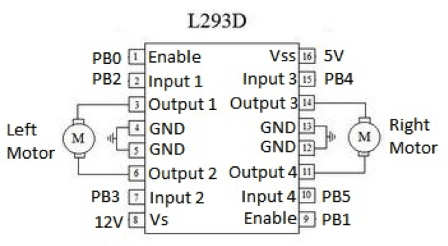 L293d Motor Driver Circuit Diagram Impremedia Net
